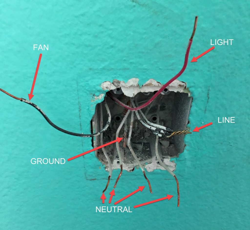 Thread Wiring With Switch And Receptacle